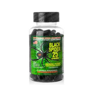 black spider ephedra 25 cloma pharma