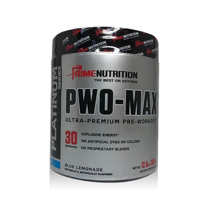 Pwo Max Primenutrition DMAA DMAE