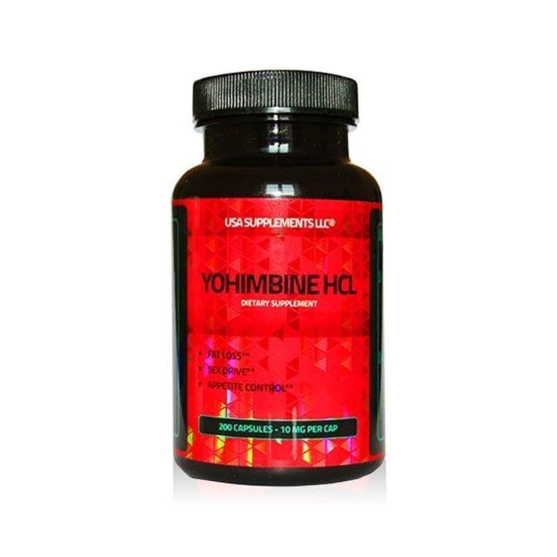 Yohimbine HCl 10mg 200tab USA SUPPLEMENTS LLC