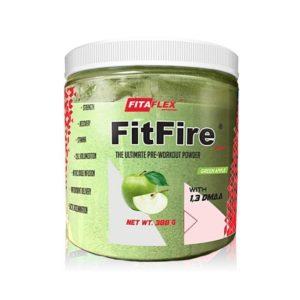 FITAFLEX FitFire Booster DMAA 388g - Green Apple