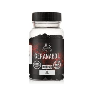 Magnus Supplements GERANABOL DMAA Fatburner