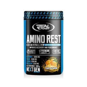 AMINO REST Real Pharm 500g Aminosäuren BCAA L-Glutamin
