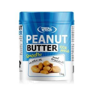 Peanut Butter Smooth 1000g Real Pharm