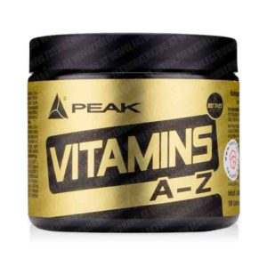 Peak Performance Vitamins A-Z