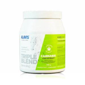 Alavis Triple Blend Extra Stark Cannabis Extrakt 700 g