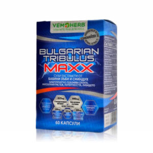VemoHerb Bulgarian Tribulus Maxx 60Kapseln